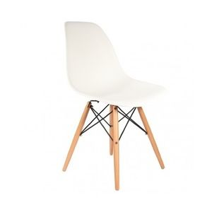 Eames Style Plastic Side Chair for sale
